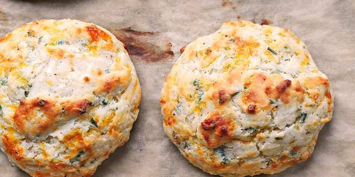 RECIPE: Sour cream cheddar and chives biscuits