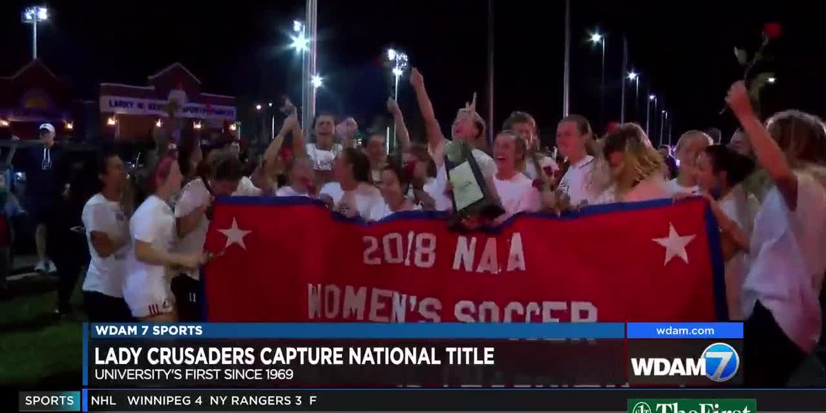 WCU Lady Crusaders win NAIA Women's Soccer Championship