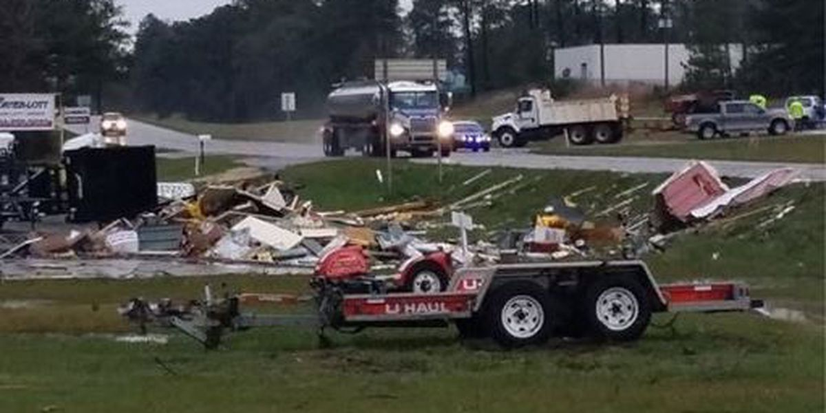 NWS confirms tornado in Covington County