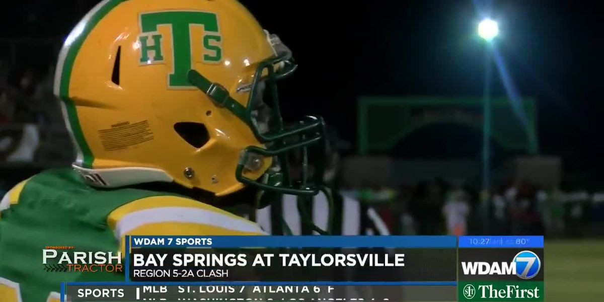 Taylorsville dominates Bay Springs, 42-6
