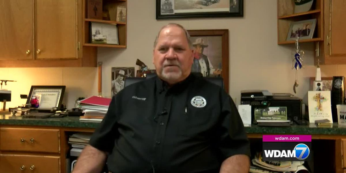 Marion County Sheriff Hall speaks after winning re-election