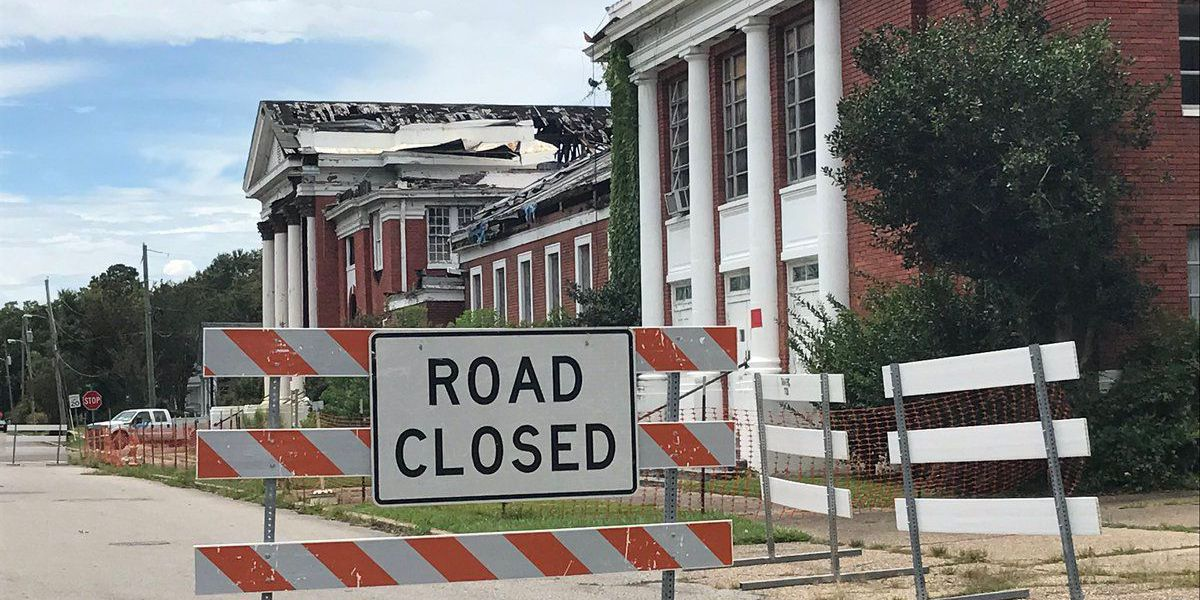 City to close roads by Mt. Carmel Baptist Church due to building collapse risk