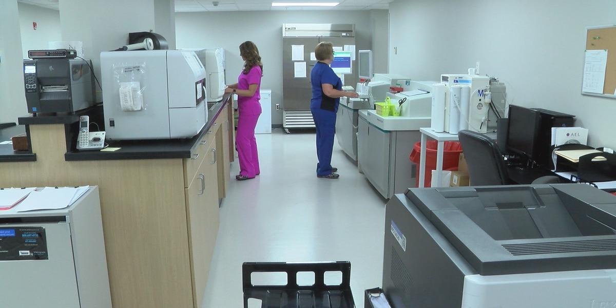 Renovation of Covington County Hospital at halfway point