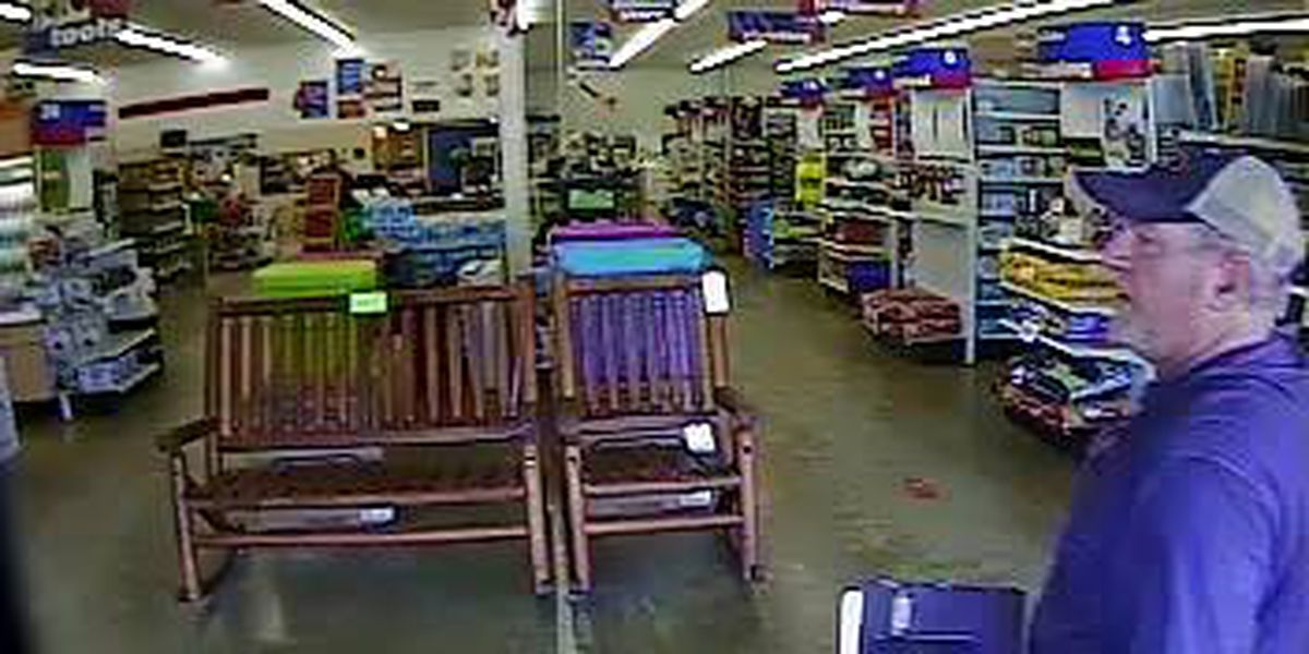 Ellisville police seeking suspect for questioning in theft