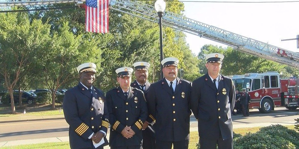 City of Hattiesburg holds 9/11 memorial service