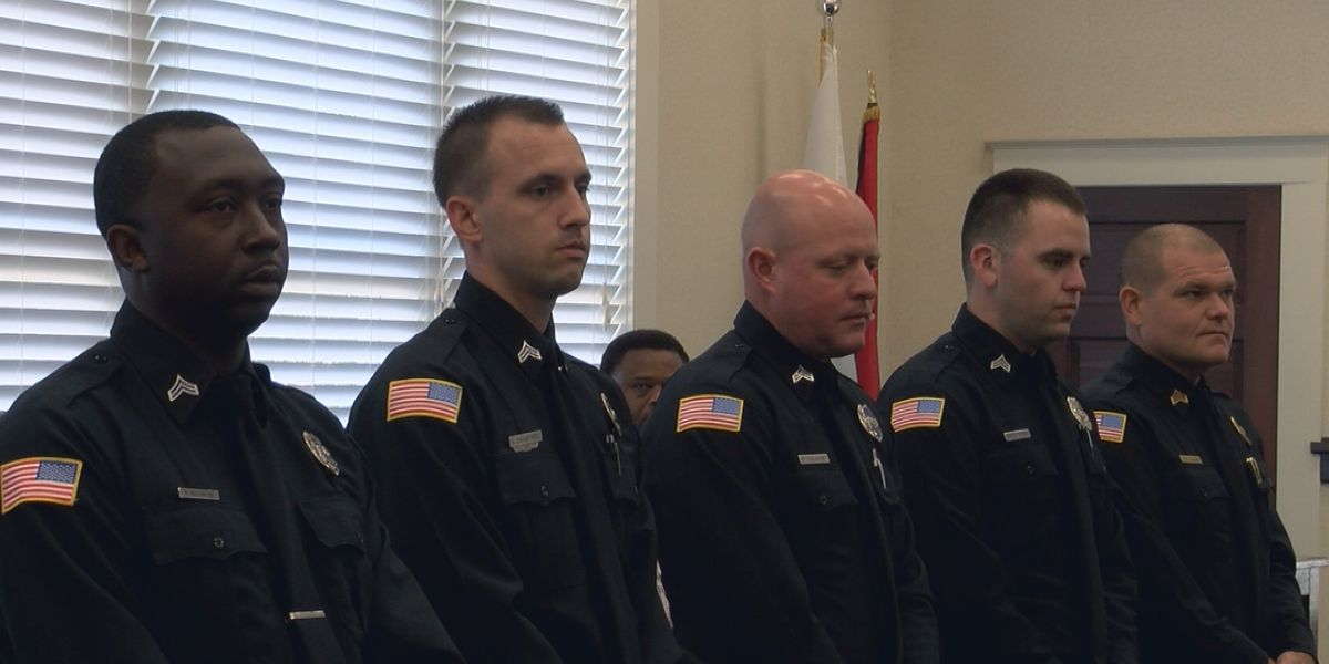 Laurel officers recognized for saving two lives