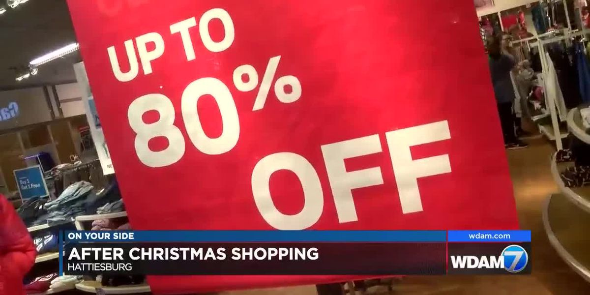 Pine Belt residents take advantage of after-Christmas sales