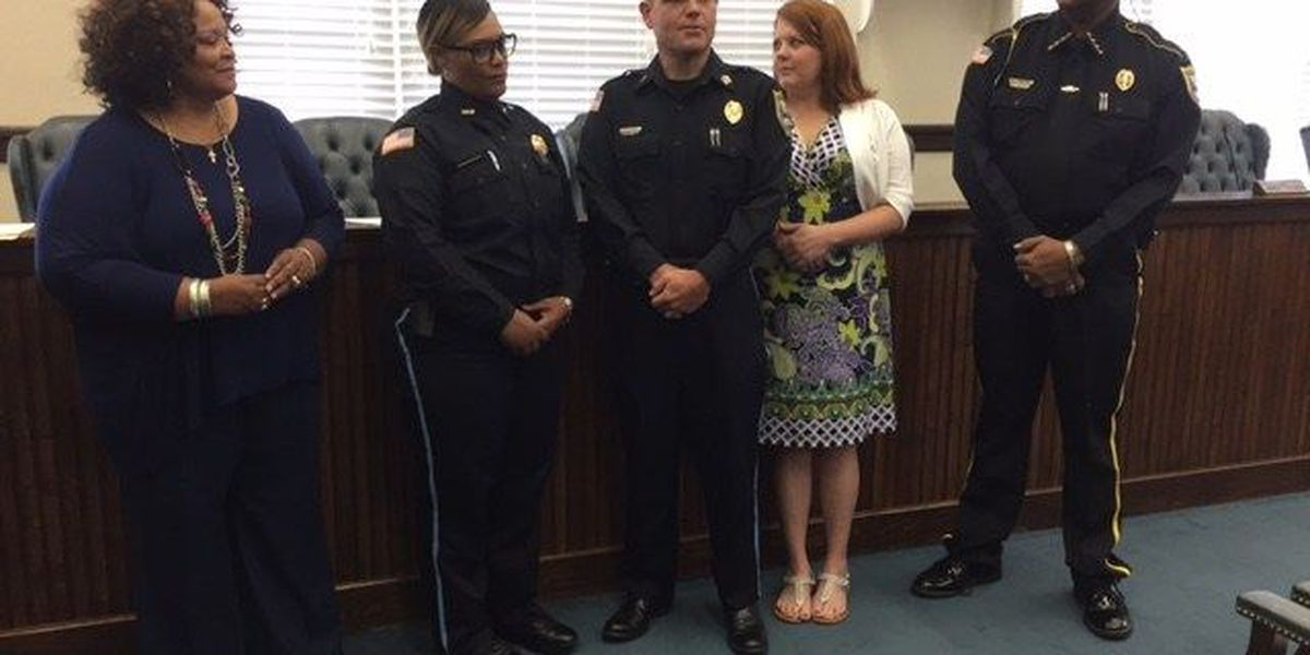 LPD promotes two officers