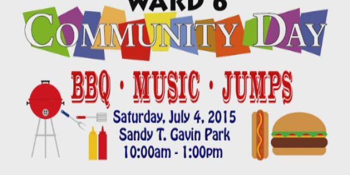 Laurel celebrating 4th of July with community day
