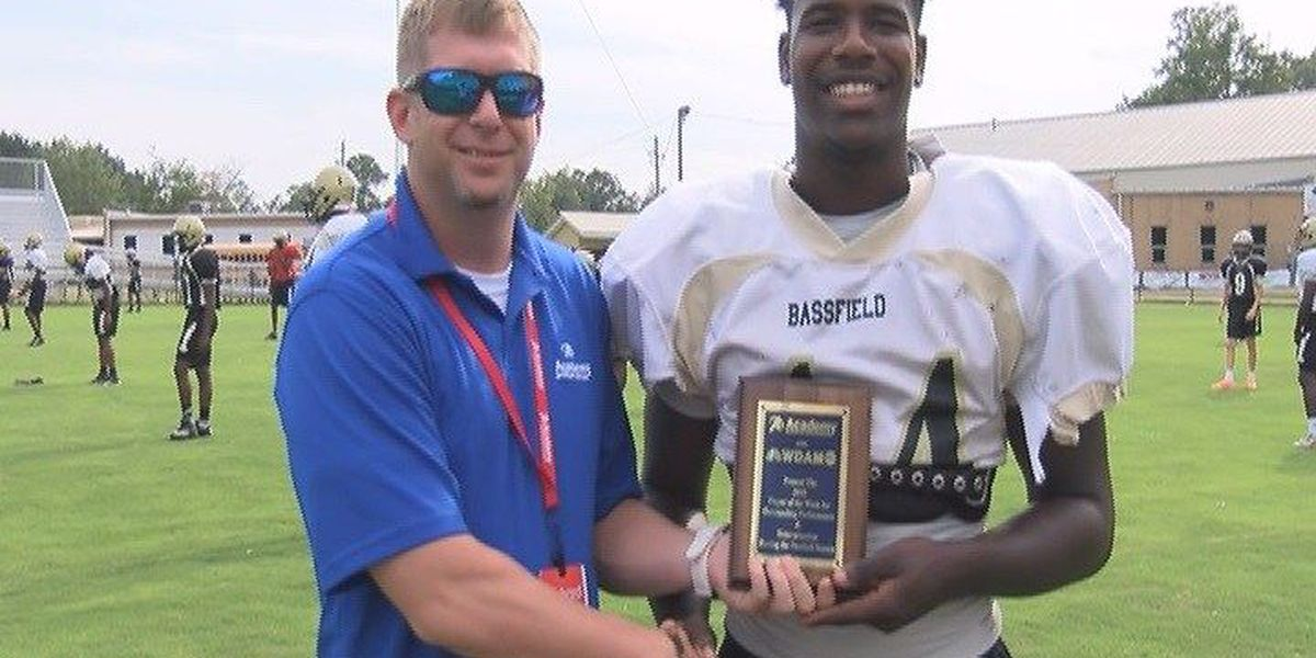 Bassfield's Racheem Boothe named Player of the Week
