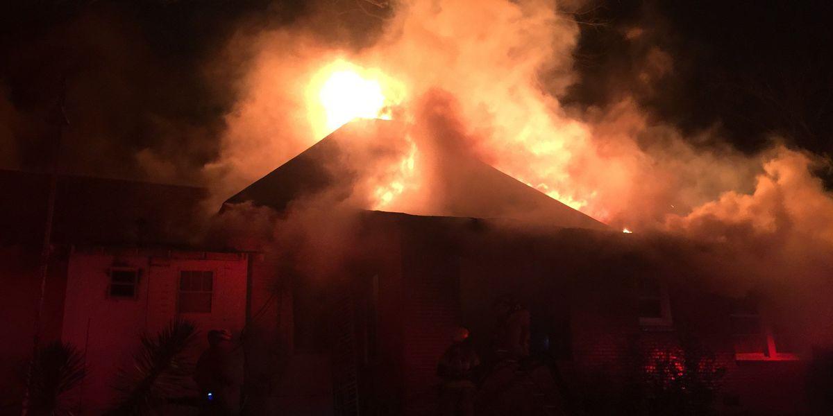 Fire destroys Hub City home