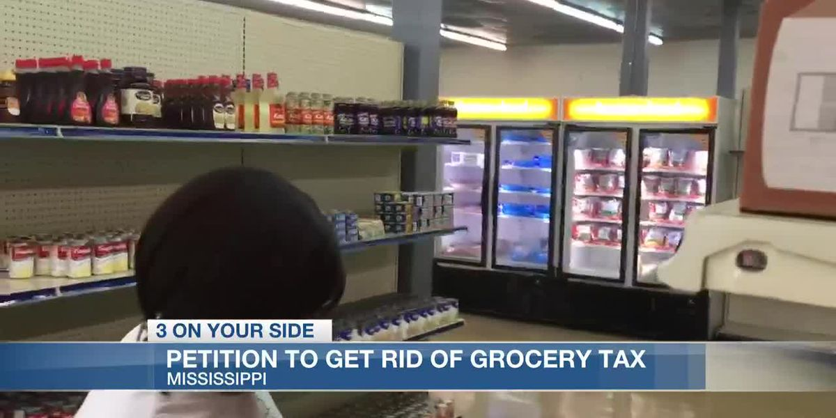 Mississippians sign petition to abolish state grocery tax