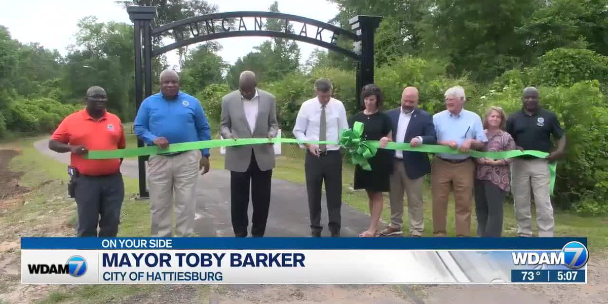 Hattiesburg opens Duncan Lake Trail extension