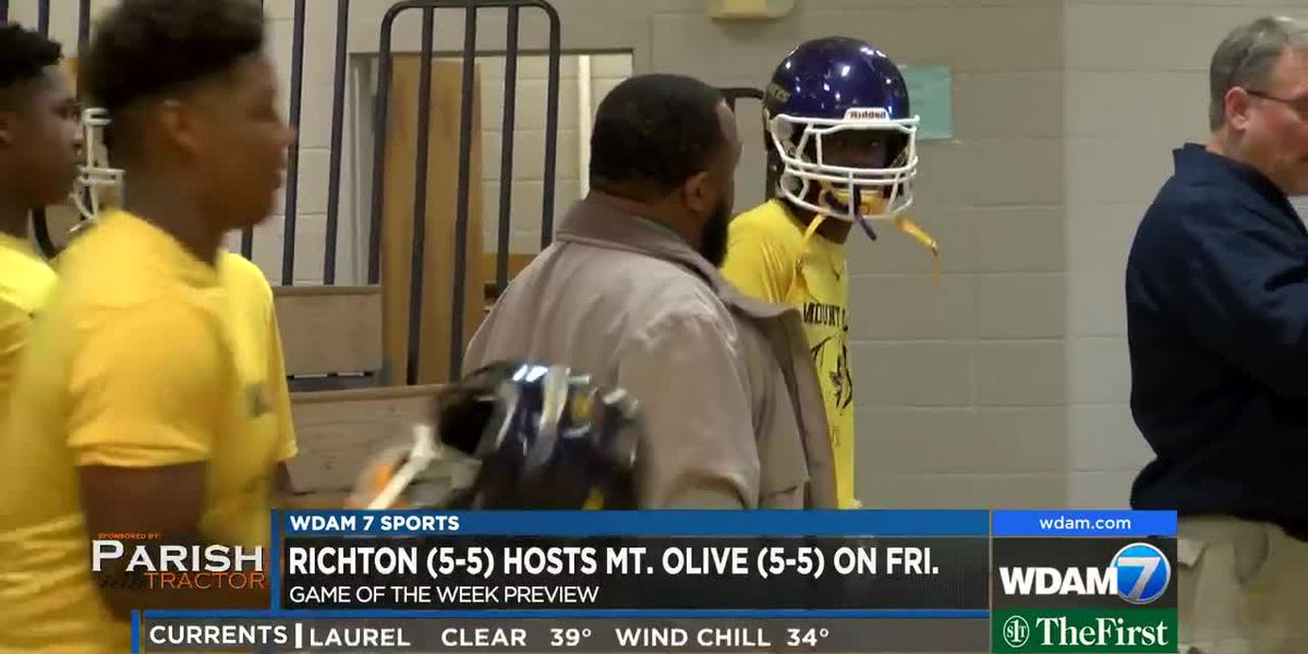 Game of the Week Preview: Mount Olive vs. Richton