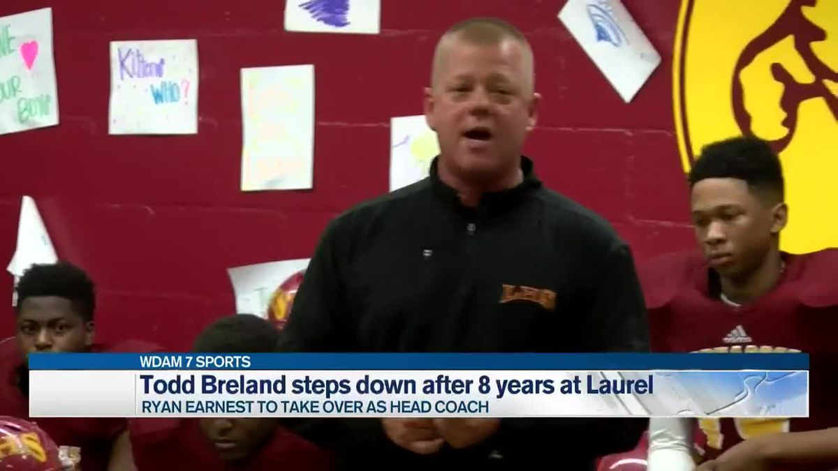 Todd Breland steps down as head coach of Laurel after 8 seasons