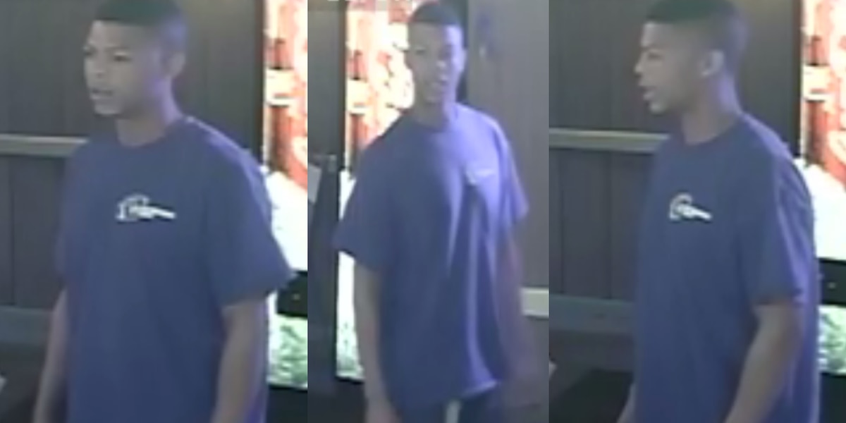 Person of interest sought in Hub City robbery