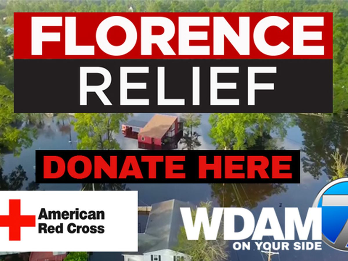 WDAM, American Red Cross team up to collect donations for Florence relief