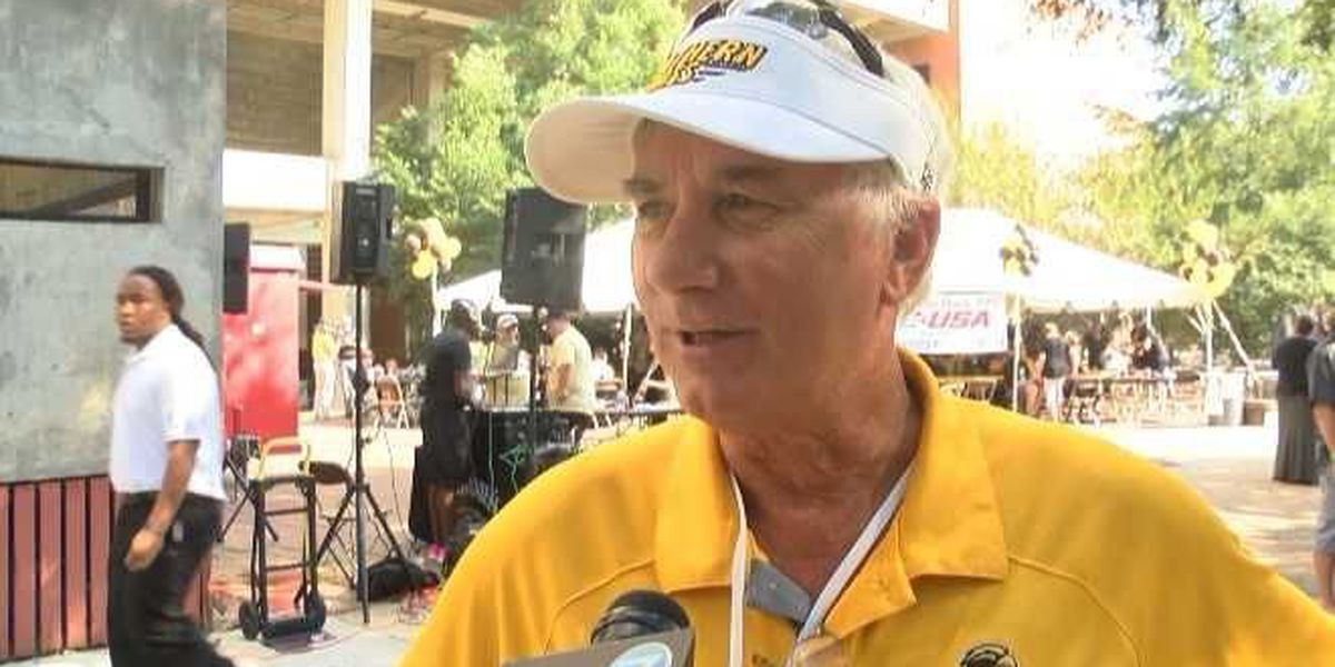 Former USM coach enjoying CFP role