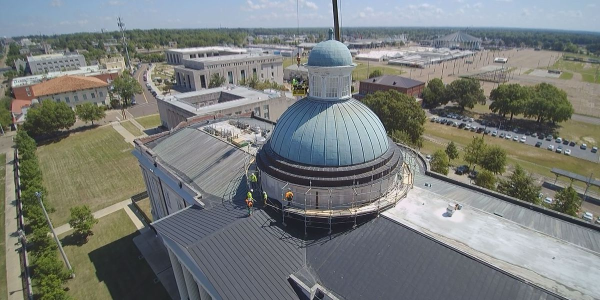 Nearly $2.6 million Old Capitol repair project expected to wrap up this summer