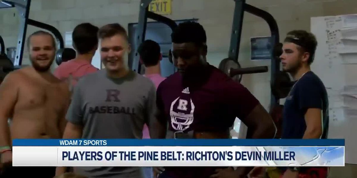 Players of the Pine Belt: Richton's Devin Miller talks softly, but delivers big hits