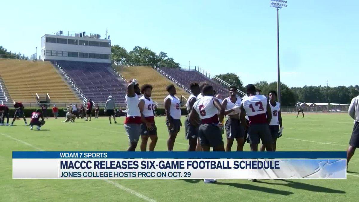 Jones College, PRCC football schedules set