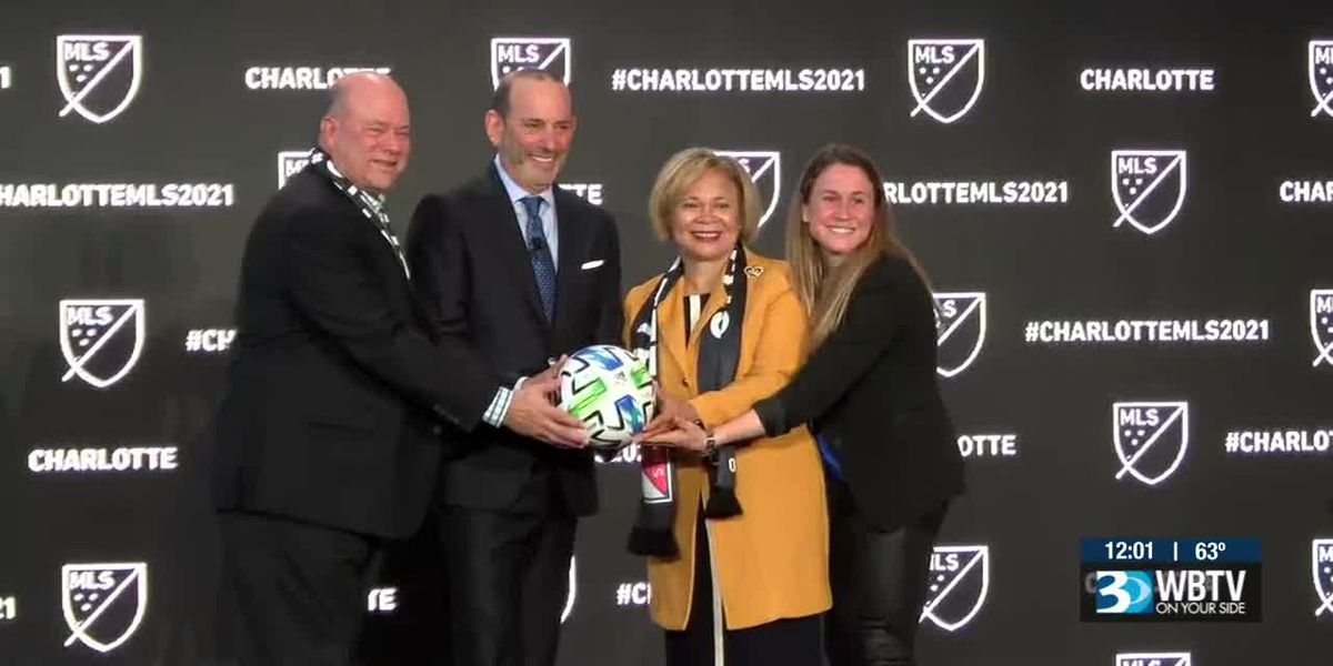 Charlotte getting Major League Soccer team