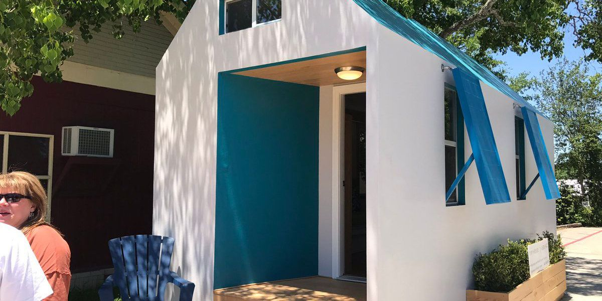 Could you live in a tiny house?