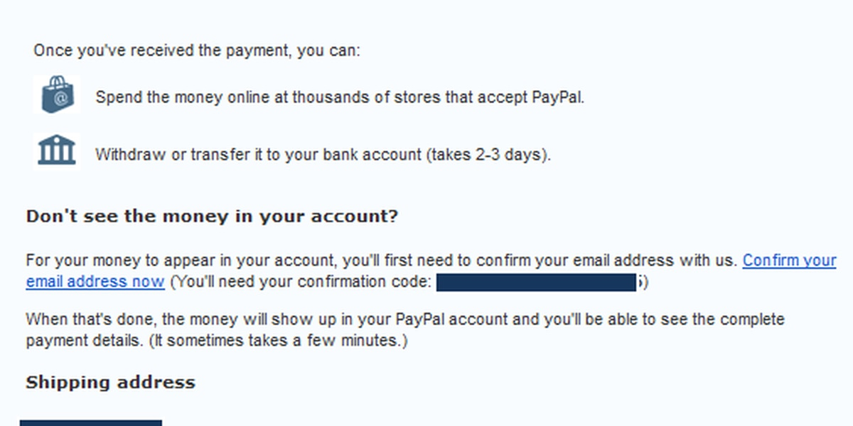 PayPal is warning against email scam that's working