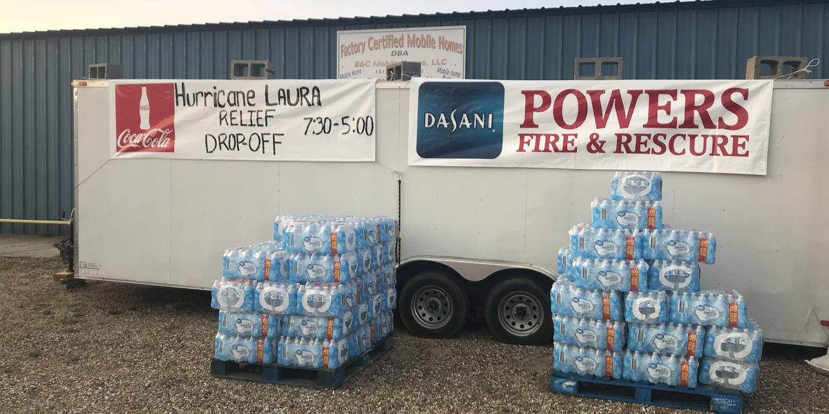 Jones Co. Sheriff's Dept. taking donations for Hurricane Laura victims