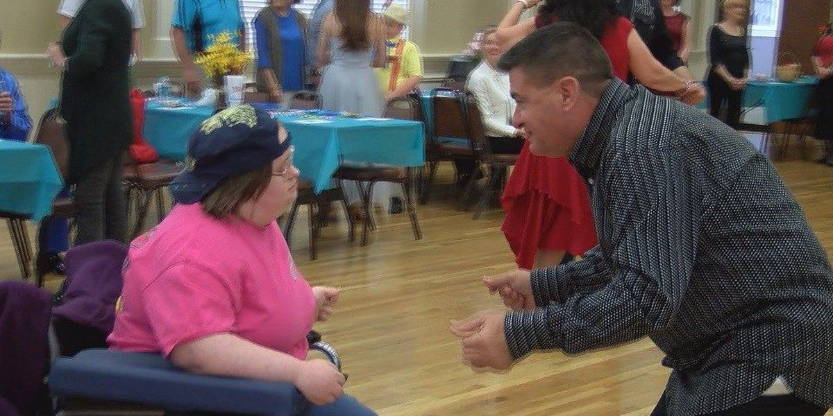 Man uses dance to connect with elderly, special needs children