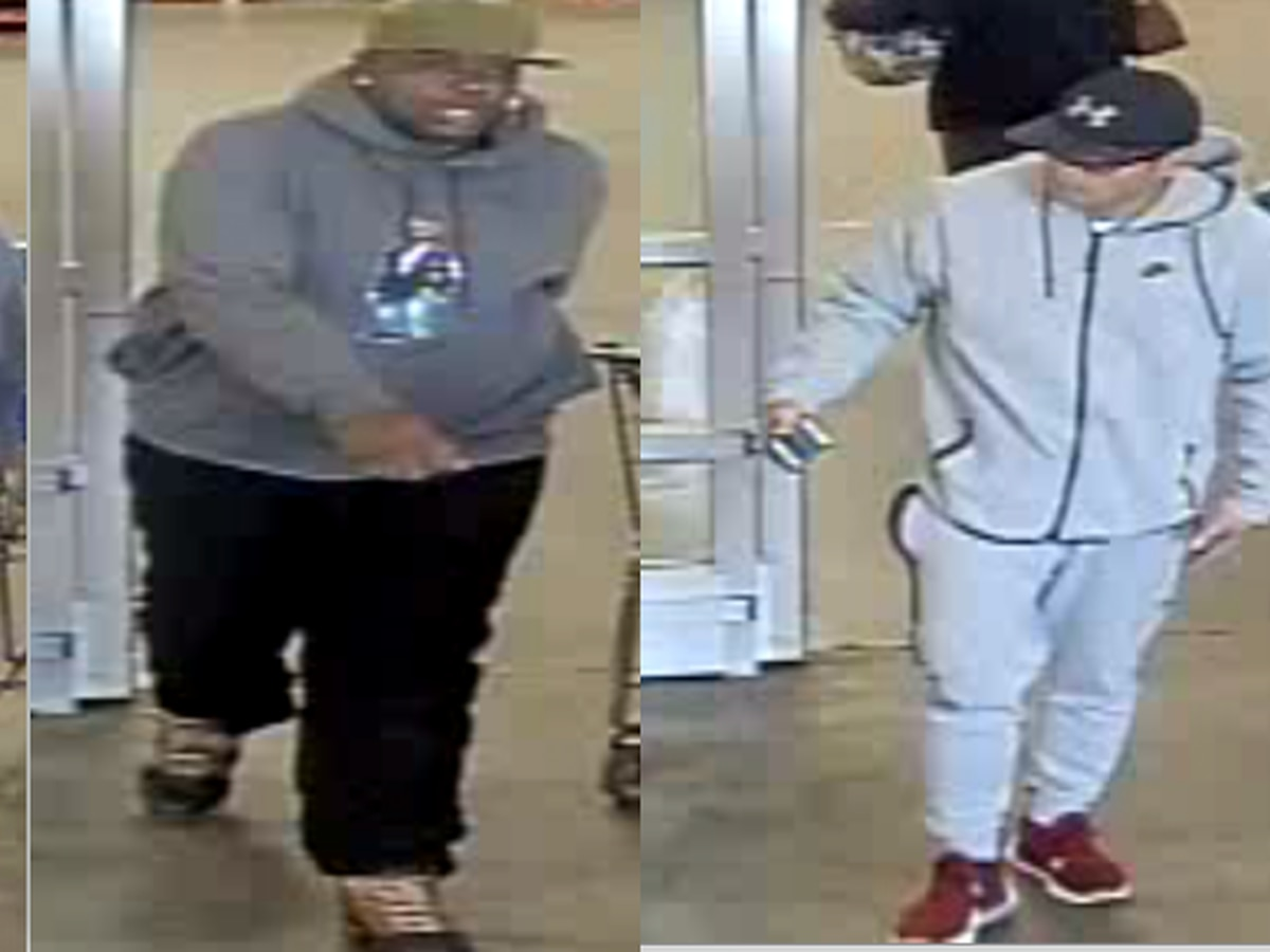 HPD searching for two wanted in credit card fraud investigation