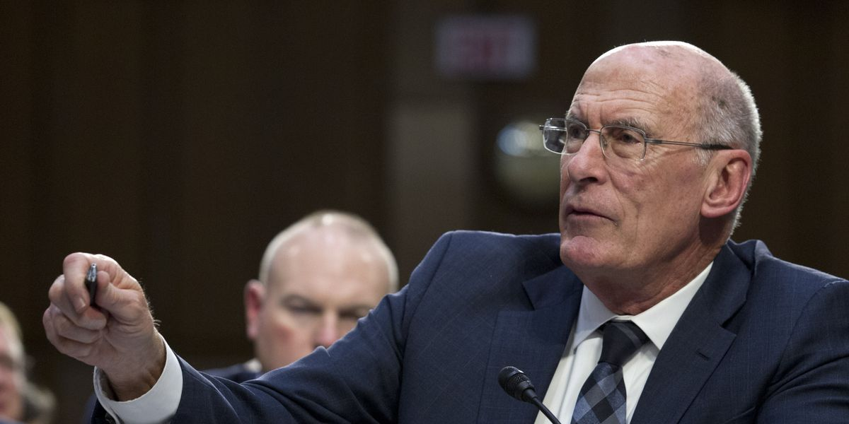 Trump says director of national intelligence Dan Coats is resigning