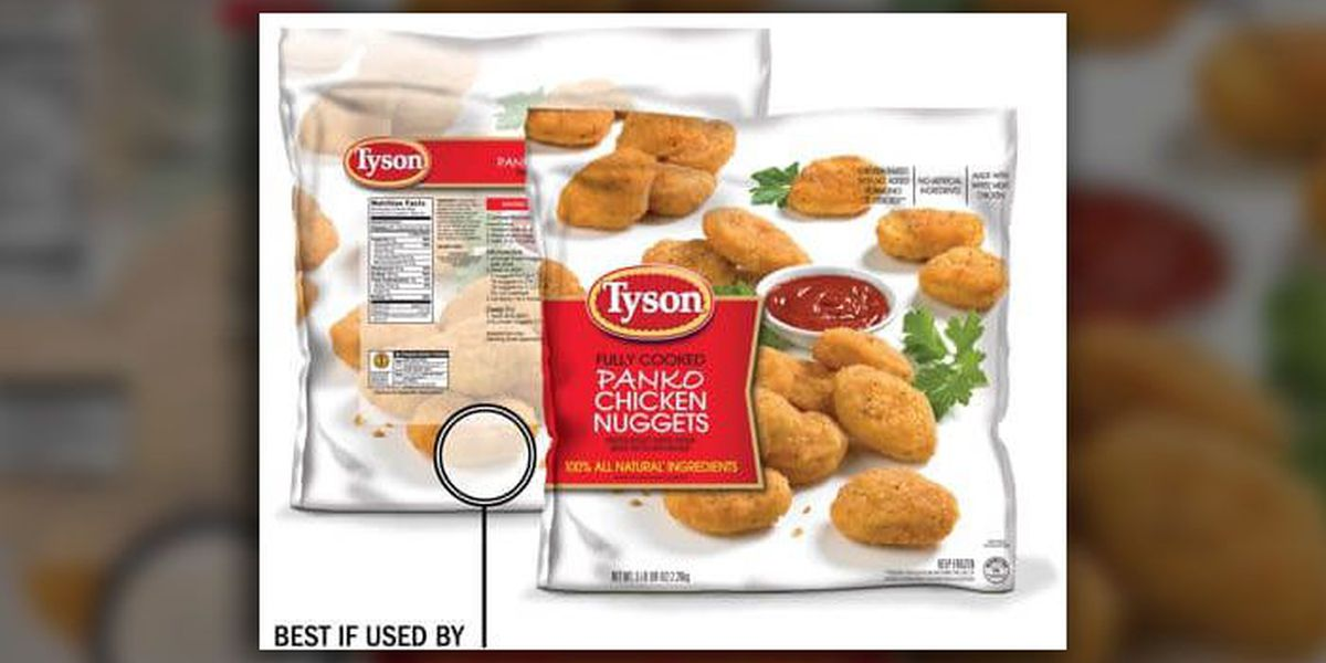 Tyson recalls chicken nuggets for potential plastic contamination