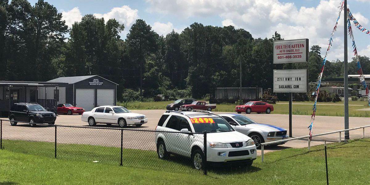 Civil Lawsuit Filed Against Southeastern Auto Sales In Laurel