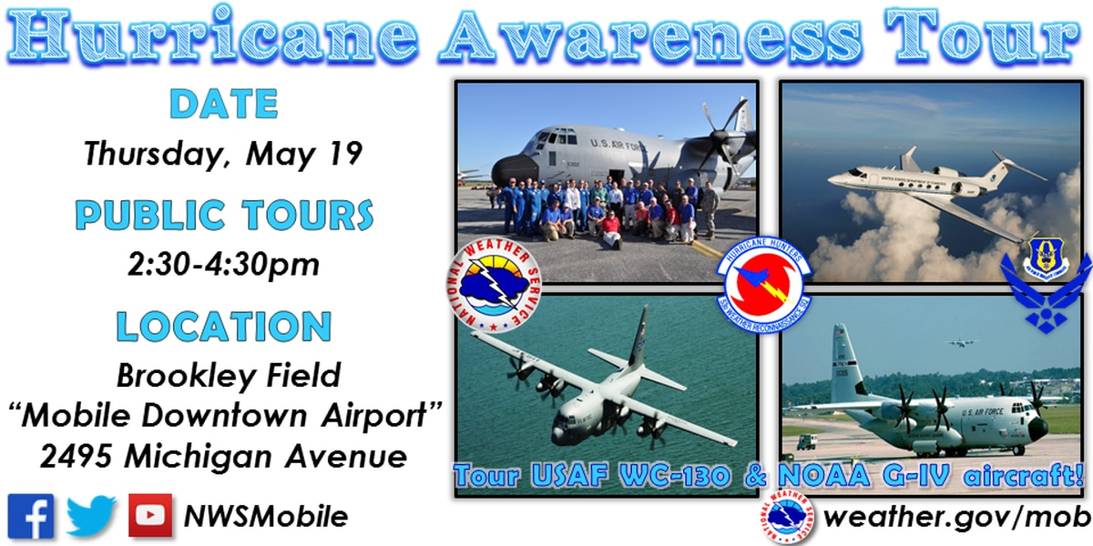Tour the Hurricane Hunter aircraft
