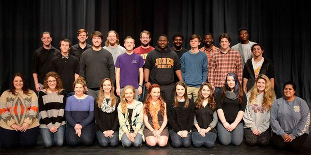 "JCJC's Theater department presents, ""Guys & Dolls"""
