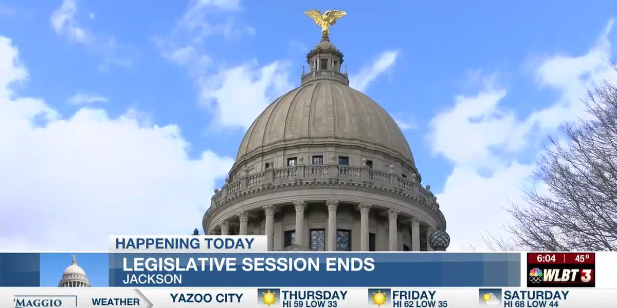 Thursday is the last day of legislative session in Mississippi