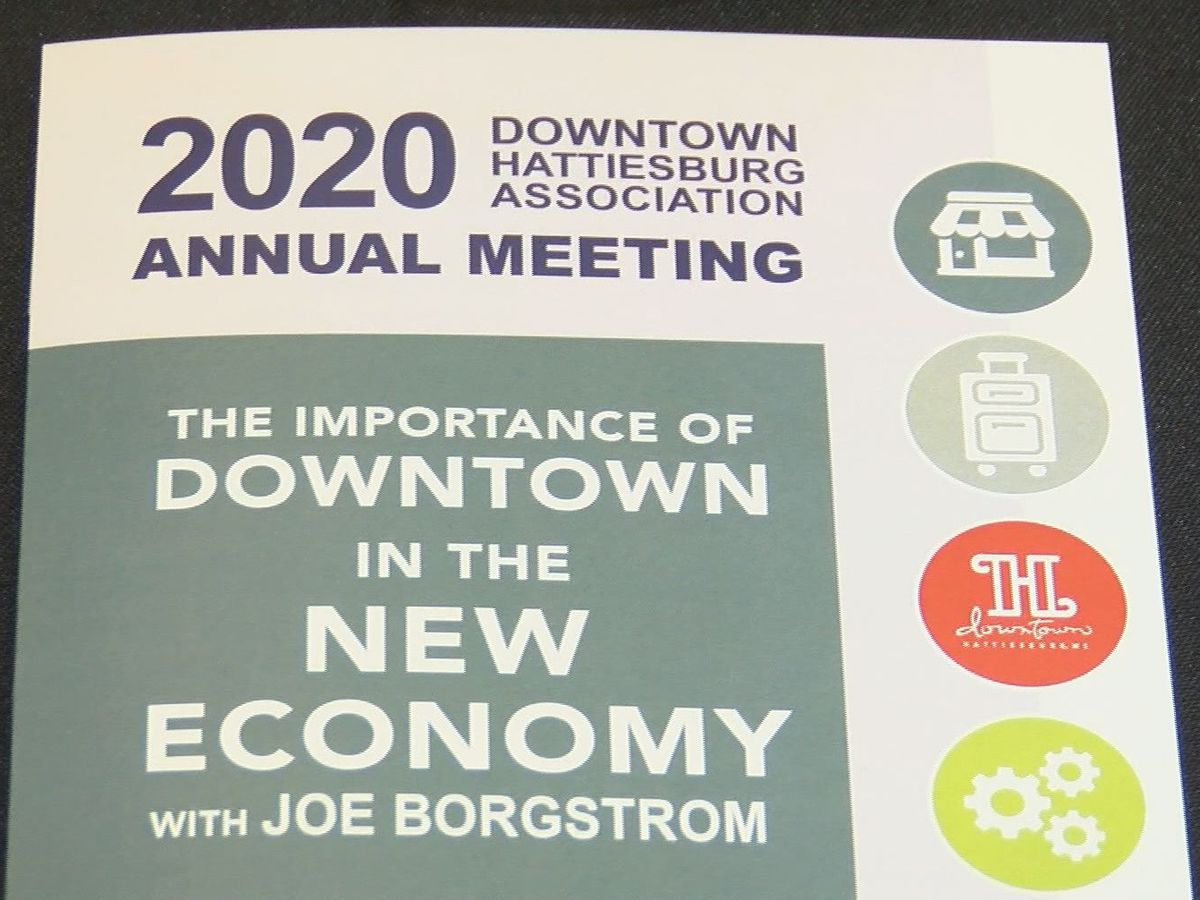 Downtown Hattiesburg Association holds annual meeting
