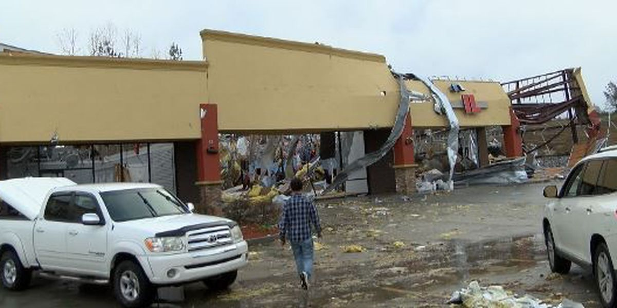 Small businesses hit by major storm damage