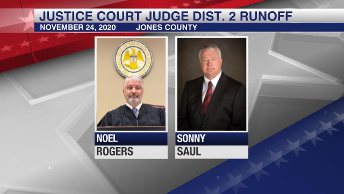 Rogers, Saul head to justice court judge runoff in Jones County