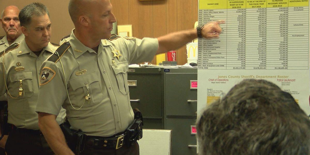 Board of Supervisors deny Sheriff's $8.3 million budget proposal