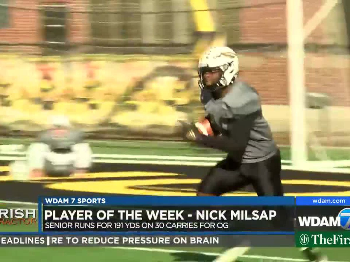 Player of the Week - Oak Grove's Nick Milsap