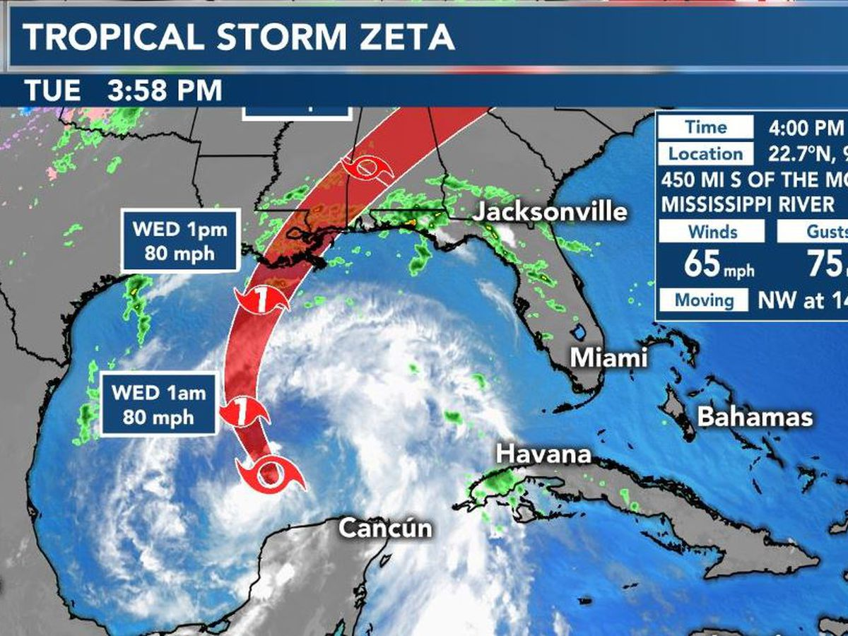 Hattiesburg, Forrest County prepare for impacts from Zeta
