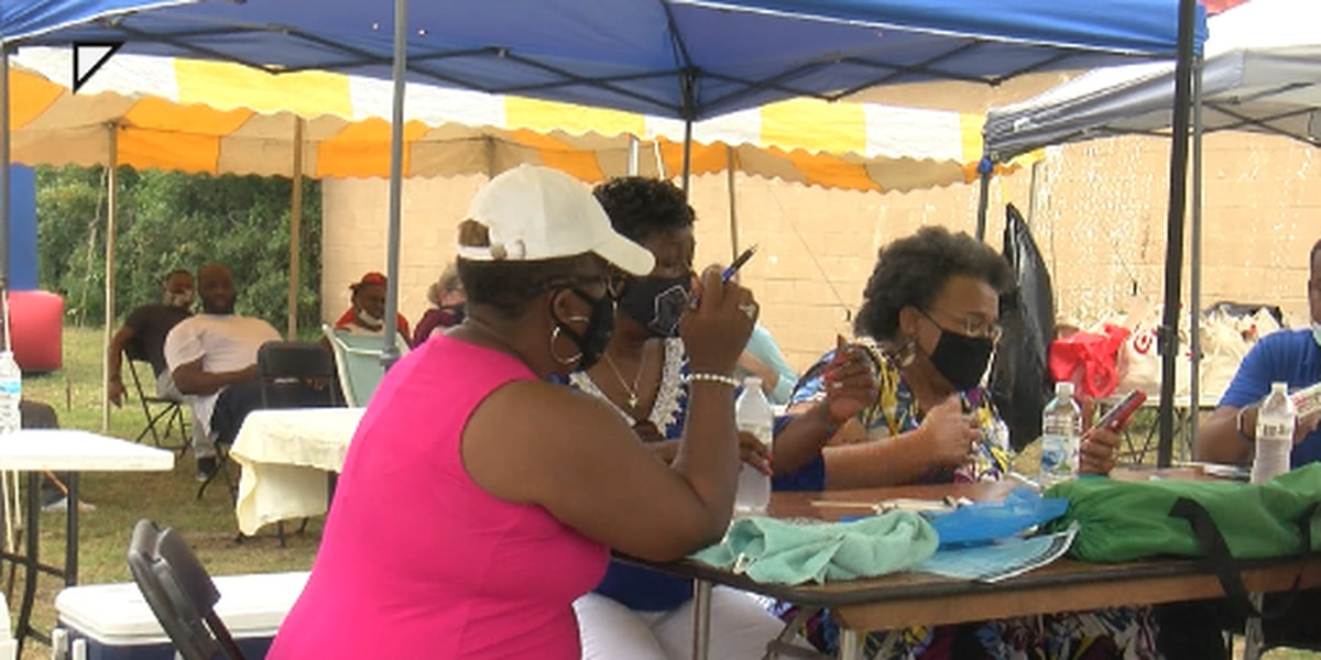 BLM Mississippi and NAACP host voter registration and census cookout