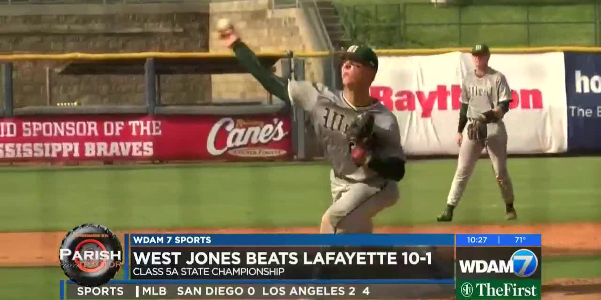 West Jones defeats Lafayette, 10-1