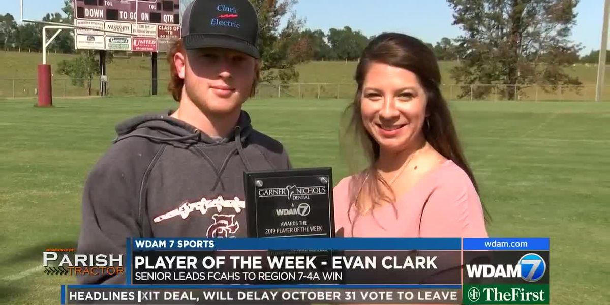 Player of the Week - FCAHS senior Evan Clark
