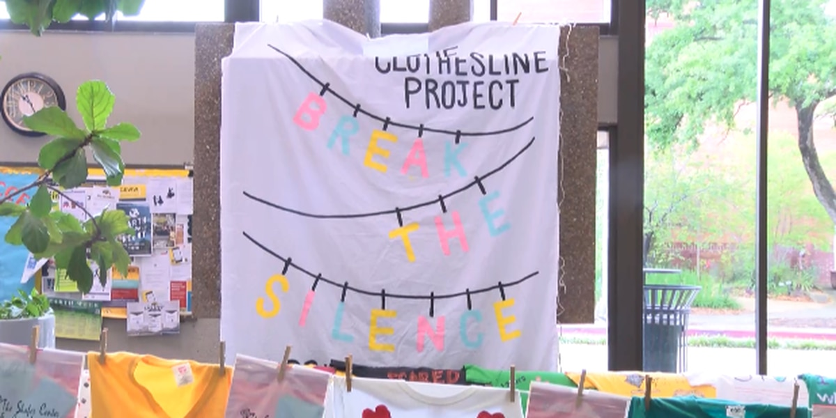 Clothesline Project helps to give a voice to victims of sexual assault
