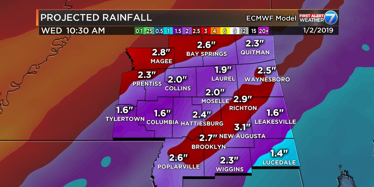 First Alert: Flash flooding threat returns Thursday