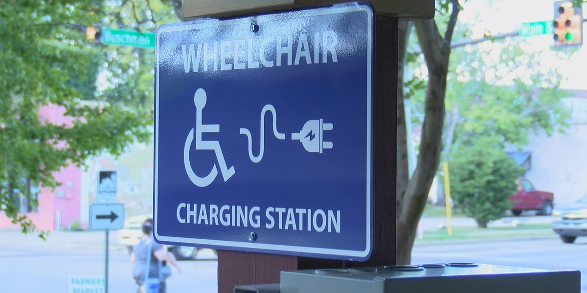 Hattiesburg adds public wheelchair charging stations