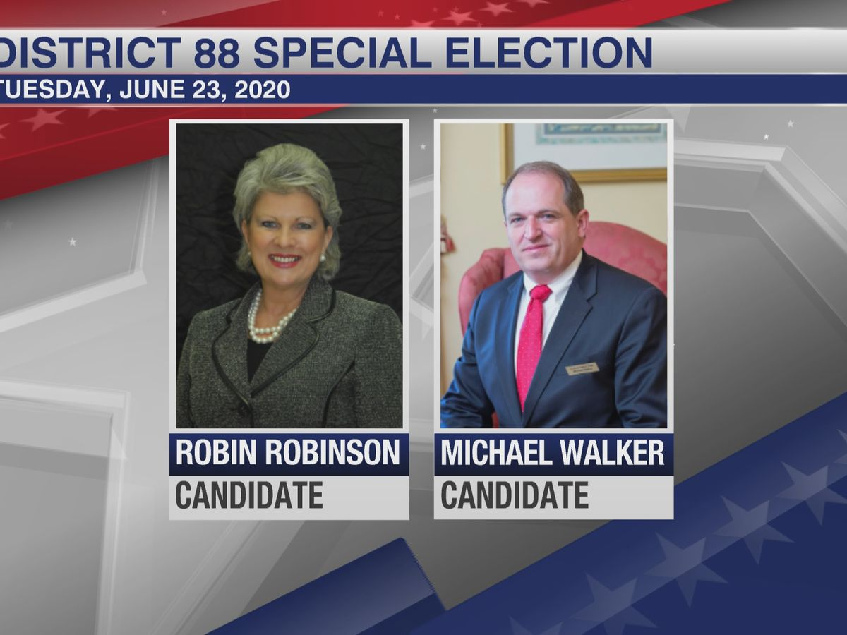 Robinson wins special election for House District 88